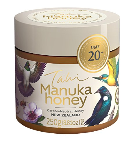 Manuka Honey UMF 20 plus | Made in the Wild in New Zealand | Pure and Raw (250gm)