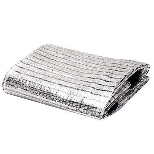 JWC Paño de Sombra de Aluminio, Malla de Sombra Resistente a los Rayos UV, Tela de protección Solar, Ligero, Duradero y Transpirable, para Cubierta de Coche de Planta de Invernadero al Aire Libre