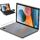 Tablet 10.1 Pulgadas Android 10 5G WiFi 4G LTE,Tableta 6GB RAM+128GB ROM /512GB,con Procesador de Octa-Core Ultrar-Rápido Tablets,Bluetooth|Type-C|7000mAh|GPS - Tablet con Teclado y Raton (Gris)