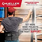 Mueller 255 Lumbar Support Back Brace with Removable Pad, Black, Regular(Package May Vary) #4