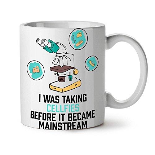 Wellcoda Science Ironie Amusement Living Geek Thé Blanc Café Mug en céramique 311,8 Gram