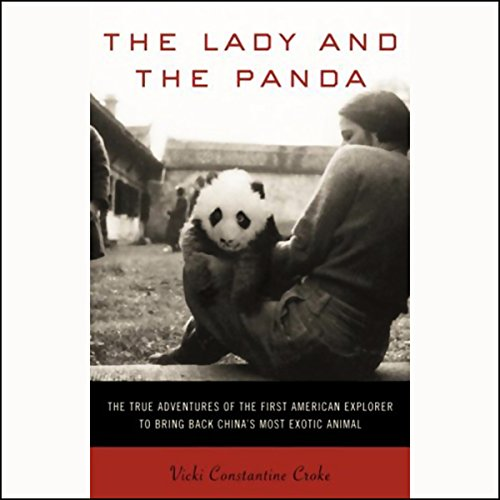 The Lady and the Panda audiobook cover art