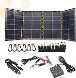 120W Foldable Solar Panel Charger Kit, Solar...