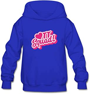 YangCH Youth TT Squad Hoodie Sweatshirt Suitable for 10-15yr Old