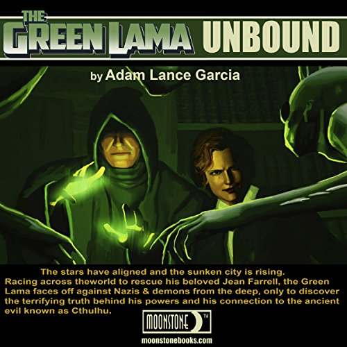 The Green Lama: Unbound audiobook cover art