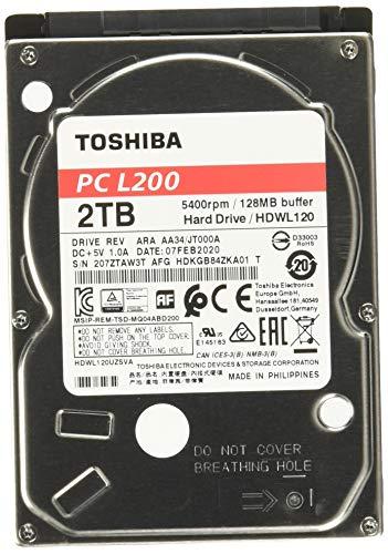 Toshiba -   HDWL120UZSVA 2 TB