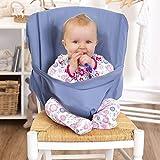 Chaise haute bébé | Chaise de voyage bébé pliable | Idéal pour manger dehors et les jours fériés | pratique et ne...