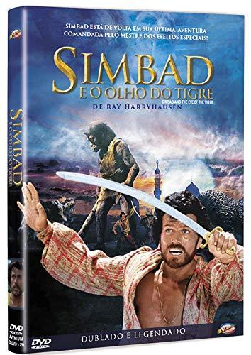 Dvd Simbad E O Olho Do Tigre - Patrick Wayne