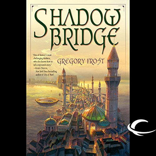 Shadowbridge audiobook cover art