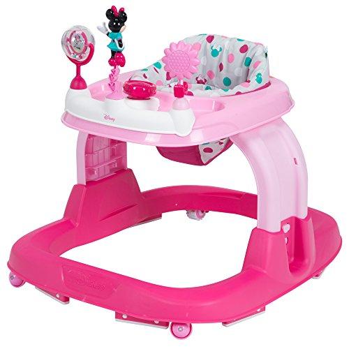 Disney Baby Ready Set Walk Walker, Minnie Dot Fun