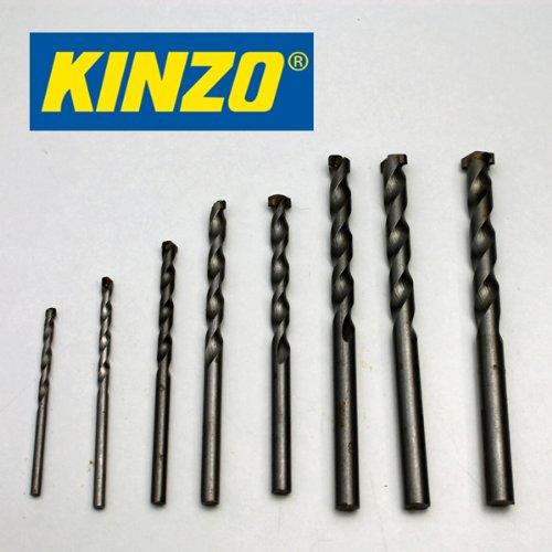 Kinzo steenboren SET 8 dlg, 3-10 mm, cassette, steen muur beton boor set (LHS)