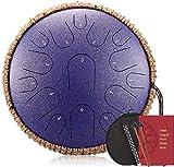 15 Note 13 Pollici D Tangenziale Key Thumue Drum Con Decorazione Della Corda, Ottimo Per La Terapia...