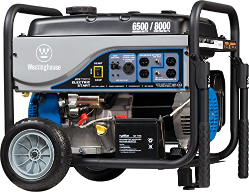 Westinghouse WH6500E Portable Generator -...