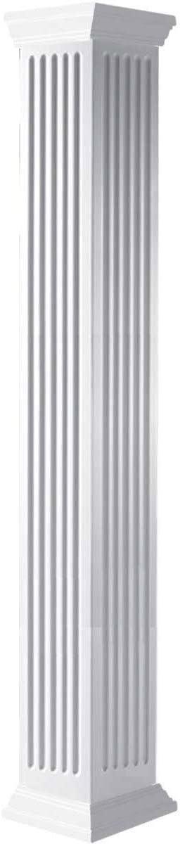 Max 80% OFF Max 72% OFF Ekena Millwork CC1008ENFCRCR White Column