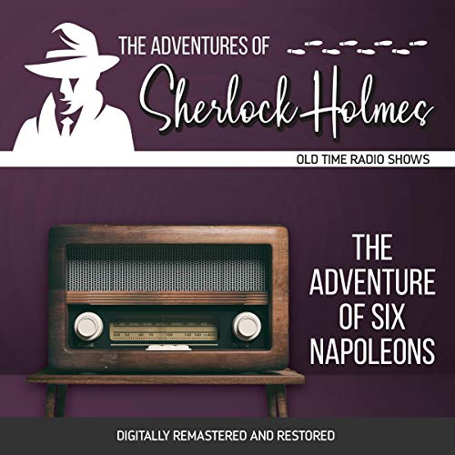 Couverture de The Adventures of Sherlock Holmes: The Adventure of Six Napoleons