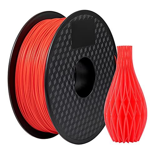Creality 3D PLA Filament 1.75mm 1KG Carrete para impresora 3D - Rojo