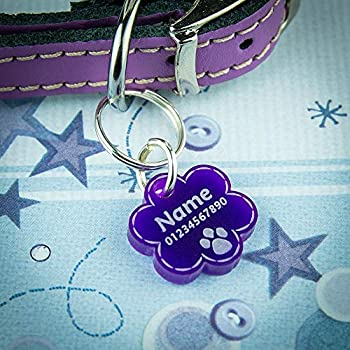 National Engraver Medaille Chien, Medaille Chat - en Acrylique