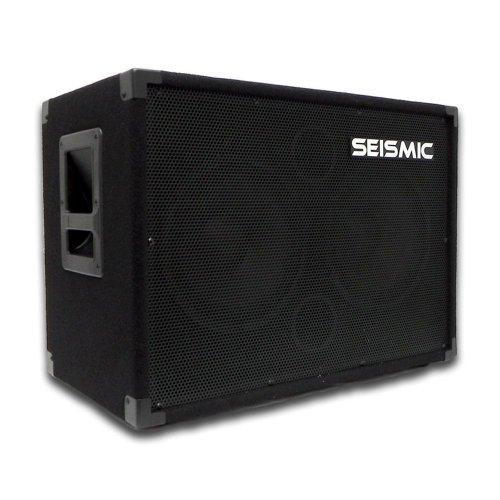Seismic Audio - 210 Bass Guitar Speaker Cabinet PA DJ 400 Watts 2x10 PRO AUDIO