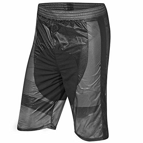 prolog cycling wear Transparente Regenhose zum Überziehen über die Radhose, Wind- und wasserdicht, elastisch, atmungsaktiv