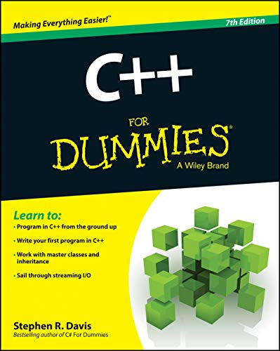 C++ For Dummies (For Dummies (Computers))