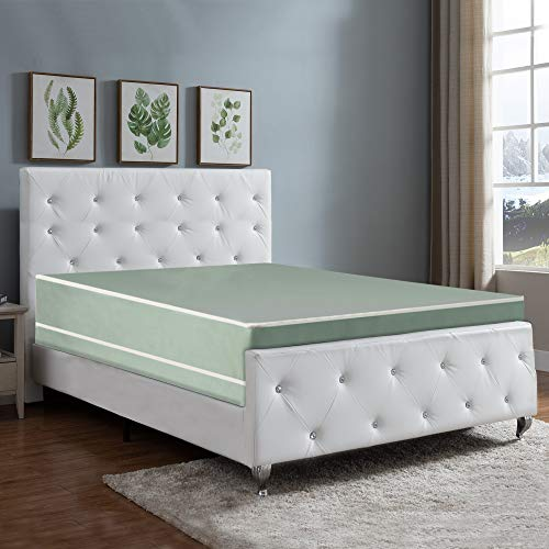 Nutan 8-Inch Firm Double sided Tight top Waterproof Vinyl Innerspring Fully Assembled Mattress, Good For The Back,Twin