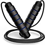 GOCART WITH G LOGO Skipping Rope for Men Gym, Women, Weight Loss, Kids, Girls, Children, Adult Best in Sports, Fitness, Exercise, Workout (Blue)