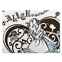 不思議国のアリス アリス (3) おしゃれ 絵のパズル 500ピース 大人の益智少年少女漫画の風景の超大diy手作り玩具 親子ゲーム キッズ 学習 認知 玩具 教育人気 パズルのおもちゃギフトのため 画像パズル