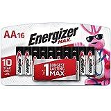 Energizer E91LP-16 Standard Battery, AA, Alkaline, PK16 Lighting, 16 Count (Pack of 1), Black