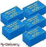 AZDelivery 5 x 220V zu 5V Mini-Netzteil für Arduino und Raspberry Pi