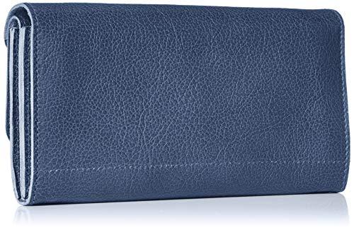 [イルビゾンテ]財布C0881レザー本革BLUE[並行輸入品]