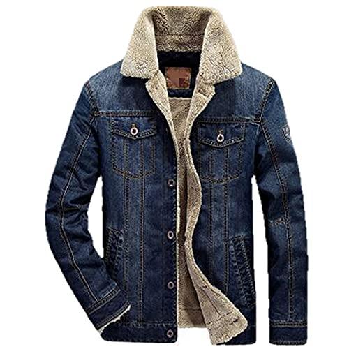 men jacket coats clothing denim jacket mens jacket thick winter outwear male