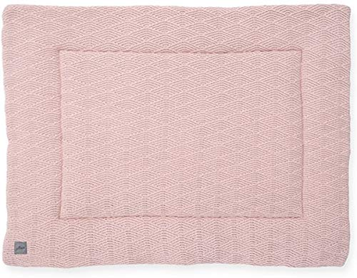 Jollein Krabbeldecke Laufgittereinlage 80x100 cm River knit pale pink