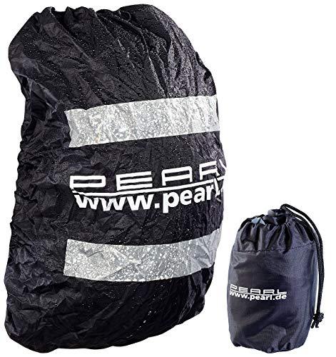 PEARL Rucksack Schutz: Regenhülle für Rucksäcke bis 40 Liter (Regenschutz Rucksack)