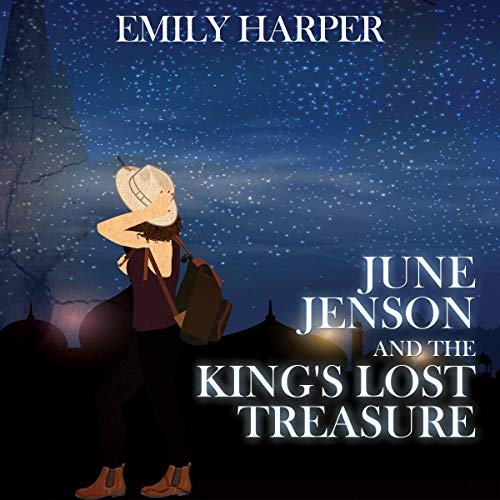 June Jenson and the King's Lost Treasure audiobook cover art