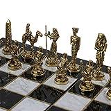 ajedrez figuras metal