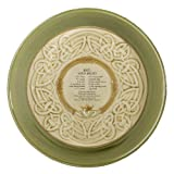 Grasslands Road Celtic 9-Inch Irish Claddagh Dish with Soda Bread Recipe, Silver