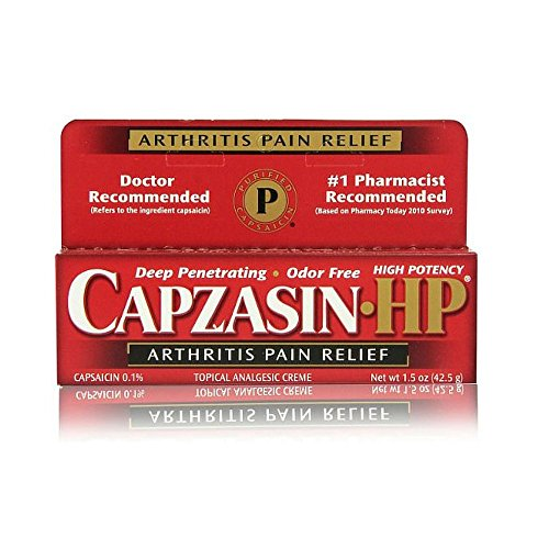PACK OF 3 EACH CAPZASIN-HP CREME 1.5OZ PT#31192675142