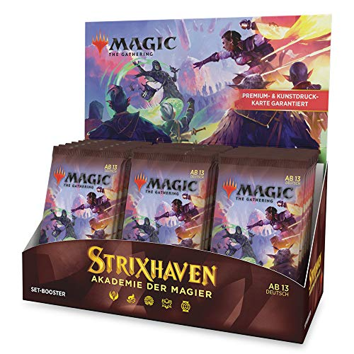 Magic: The Gathering Strixhaven-Set-Booster-Display, 30 Set-Booster (Deutsche Version)