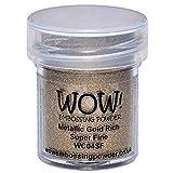 Wow Embossing Powder WOW Embossing Powder, 15ml, Gold Rich