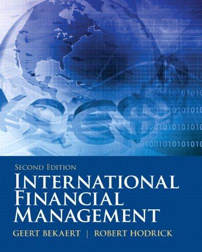 International Financial Management (2nd Edition)...