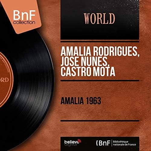 Amália Rodrigues,  José Nunes,  Castro Mota