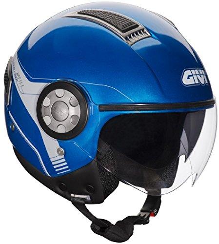 Givi HPS 11.1 AIR DEMI-Jet-Helm, Blau, XS