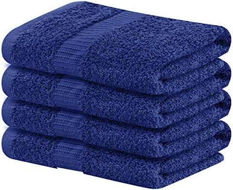Details about  /12 HAND TOWELS 16 x 27  WHITE  3 lbs  COTTON GYM NAIL SALON HOTEL FANTASTIC