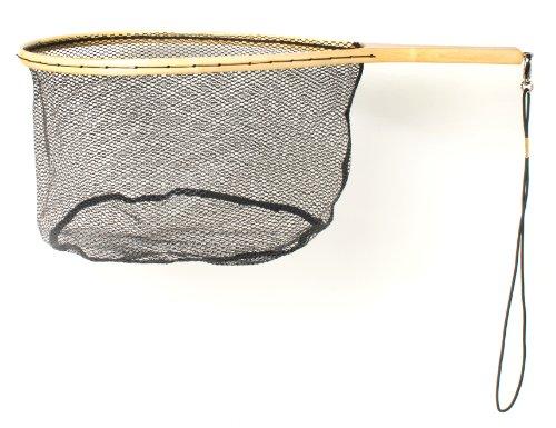 Eagle Claw NTRTR Wood Trout Net W/Rubberized Netting
