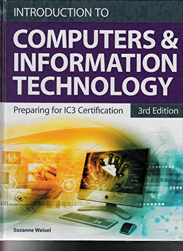 Compare Textbook Prices for Introduction to Computers and Information Technology for Microsoft Office 2016 3 Edition ISBN 9780135210154 by Emergent Learning