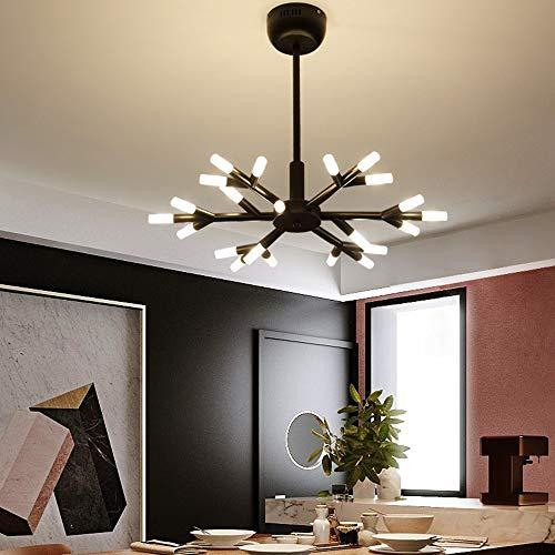 The only goede kwaliteit interieur zwart en wit Nordic Firefly kroonluchter takken restaurant lichten decoratieve winkel kandelaar