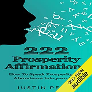 222 Prosperity Affirmations audiobook cover art