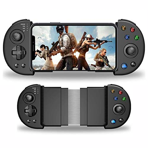 DELAM Mobile Game Controller, Bluetooth Phone Controller for Android/iOS/iPhone, PUBG Mobile...