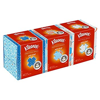 Kleenex Professional Facial Tissue Cube for Business  21286  White 3 Boxes/Bundle