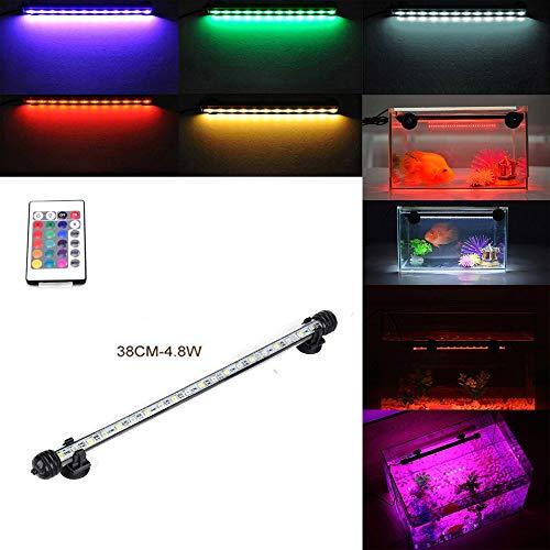 DOCEAN GreenSun 38CM Aquarium Light RGB Remote Colour...
